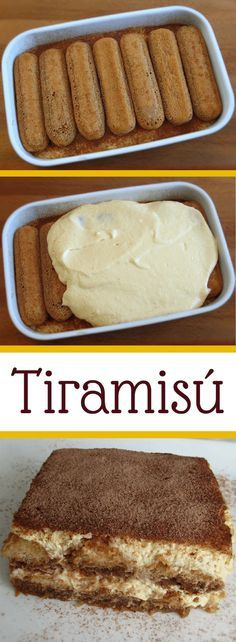 Nothing like a tiramisu to give a refined touch to your dinner… Dare yourself! It's delicious… Sweet Desserts, Sweet Recipes, Delicious Desserts, Baking Recipes, Cake Recipes, Dessert Recipes, Portuguese Recipes, Sweet Tooth, Food Porn