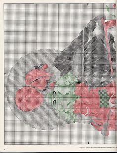 Post Spring Easter Baby DIGITAL Counted Cross Stitch Pattern  Chart Even Sat