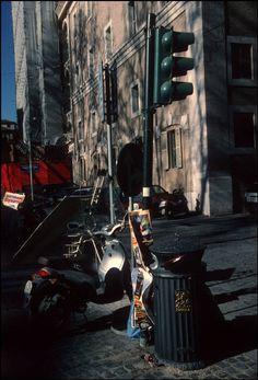 by Harry Gruyaert, Roma, 2000 Urban Photography, Color Photography, Film Photography, Stephen Shore, William Eggleston, Saul Leiter, Magnum Photos, Become A Photographer, His Travel