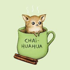 Chaihuahua by Sophie Corrigan Illustration