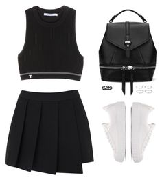 """""""good"""" by theglampedia ❤ liked on Polyvore featuring rag & bone, T By Alexander Wang, DateNight, drivein and summerdate"""