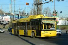 Новый троллейбусный маршрут в Киеве соединит станции метро «Дворец спорта» и «Выдубичи».