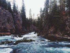 Exploring at Benham Falls near Bend, OR #iPhoneography #vscocam