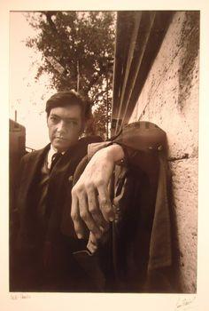 Julio Cortazar por Sara Facio.