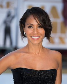 The Hottest Bob Haircuts of the Moment: Jada Pinkett Smith's Edgy Bob