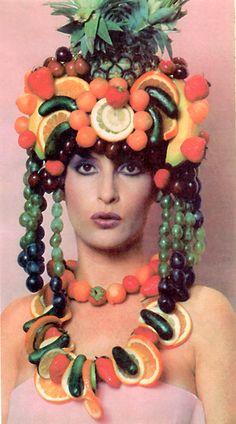 fruity head dress