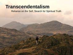 transcendentalism essay thoreau