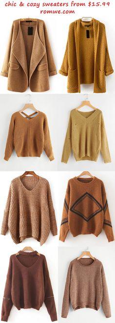 chic sweaters 2017 - romwe.com
