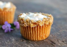 Carrot Pineapple Cupcakes are a moist carrot cupcake with a dollop of pineapple flavored cream cheese in the middle. Topped with Cream Cheese Frosting.