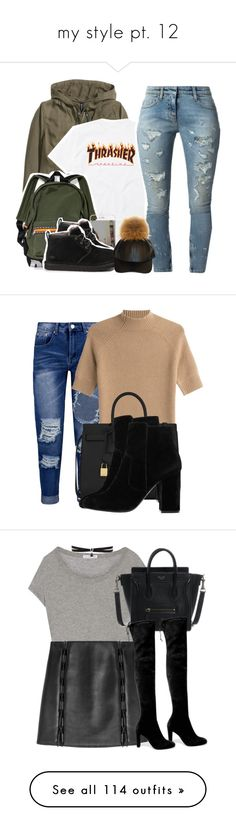 """my style pt. 12"" by mysquadtoowavy ❤ liked on Polyvore featuring H&M, UGG Australia, Faith Connexion, Boohoo, Theory, Yves Saint Laurent, MANGO, James Perse, Stuart Weitzman and David Koma"