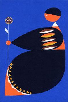 Illustration by Matsue Maiko, ねむりをまつ(2013)