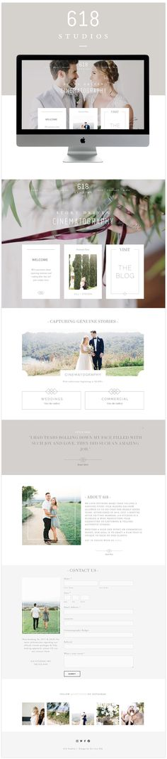 best squarespace videography website