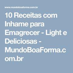 10 Receitas com Inhame para Emagrecer - Light e Deliciosas - MundoBoaForma.com.br