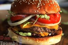 Homemade Burger King Whopper Recipe by Food Blogger Dan Toombs