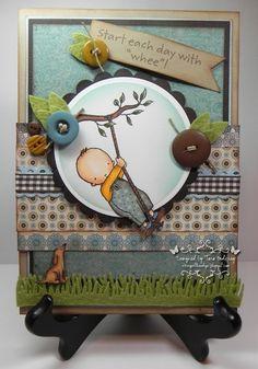 A wonderful card by Tara Godfrey.