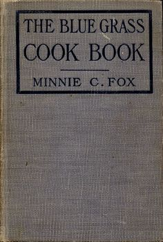 The Blue Grass Cook Book Page 1
