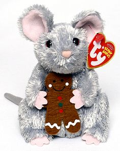 Stirring - mouse - Ty Beanie Babies