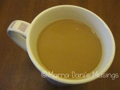 Homemade french vanilla creamer