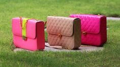 Now carry your belongings in #style with this smart coloured #bags by Karishma Shah. Extremely spacious,this #sexy bags promises to be your best #companion wherever you go!.....#Karishmashahbags