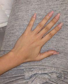 Light pink nails #AcrylicNails