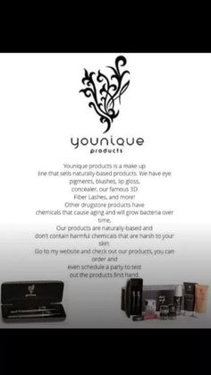 Live love breath beauty! Love what these amazing natural based products do for my skin! www.youniqueproducts.com/monicahayes!