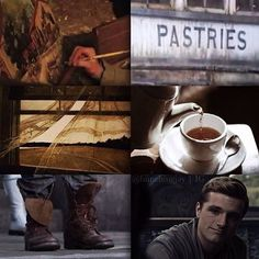 Peeta Mellark // The Hunger Games
