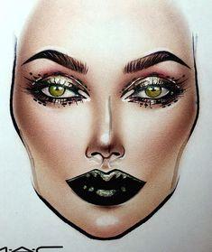 Moscow MAC Smolensky Passage Makeupartist Facechartartist Art sxmilk1422@gmail.com 📩