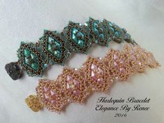 Harlequin Bracelet by ElegancebyRenee on Etsy