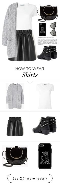 """Untitled #669"" by jovana-p-com on Polyvore featuring T By Alexander Wang, MANGO, Senso, Casetify and Tom Ford"