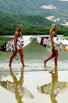 surfer girls - always wanted to learn!