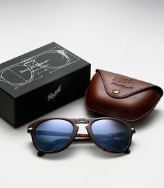 Limited Edition Persol 714 Steve McQueen Sunglasses.