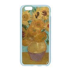 Vincent Willem Van Gogh, Dutch   Sunflowers   Google Art Project Apple Seamless iPhone 6 Case (Color) by ArtMuseum