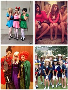 15 Fun and Unique DIY Halloween Group Costume Ideas For You and Your BFFs