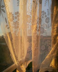 La Reverie, Gold Aesthetic, Aesthetic Vintage, Photocollage, White Curtains, Bedroom Curtains, Mellow Yellow, Color Yellow, Aesthetic Pictures