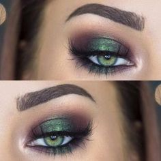 Eye Makeup For Green Eyes | Makeup Looks For Green Eyes - Part 18