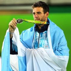 Fabulous Juan Martin Del Potro wins the silver medal in singles at Rio 2016 Olympic Games Rio Olympics 2016, Winter Olympics, Gaucho, Tennis Trophy, Monica Seles, Andy Roddick, India Eisley, Olivia Hussey, Maria Sharapova