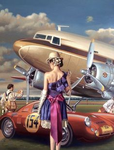 Peregrine Heathcote Tutt ArtYou can find Aviation art and more on our website. Retro Kunst, Retro Art, Pin Ups Vintage, Vintage Art, Nose Art, Scrapbooking Image, Mode Pin Up, Arte Punk, Up Auto