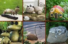 Create rock art | Community Post: 16 Unique Ideas To Spice Up Your Outdoor Living Space