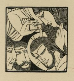 Artwork page for 'Mary Magdalen', Eric Gill, 1926