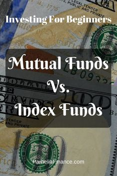 Index Funds In Stock Market Investing - Stock Market Tips - Ideas of Stock Market Tips - This is an investing for beginners lesson. Learn the difference between mutual funds and index funds for beginner investors in the stock market. Stock Market Investing, Investing In Stocks, Investing Money, Saving Money, Saving Tips, Stock Market For Beginners, Bollinger Bands, Investing For Retirement, Early Retirement