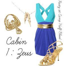 Cabin 1- Zeus- Party