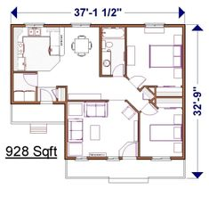 1000 Images About Adu Plans On Pinterest Floor Plans
