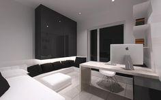 ตกแต่งอพาร์ทเม้นท์ สไตล์โมเดิร์น โทนสีขาวดำ - Pinperty.com ค้นหาบ้านในฝันของคุณ