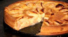 ♥ Mimos de Mãe ♥: Tarte de Maçã com Natas Chocolate, Apple Pie, Cheesecake, Deserts, Sweets, Food, Recipes, Resep Pastry, Portuguese Recipes