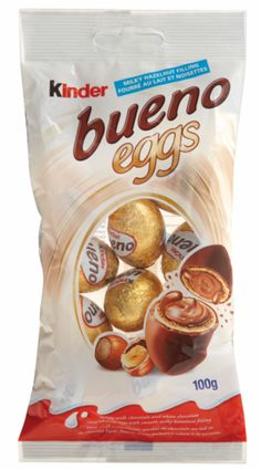 Bueno Eggs - the most amazing Easter chocolate in exsistance! Snack Recipes, Snacks, Easter Chocolate, Easter Baskets, Chips, Eggs, Baking, Food, Snack Mix Recipes