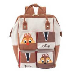 Chip 'N Dale Backpack - Love it! These little guys were my favorites growing up, especially Dale.