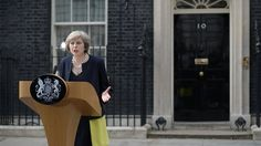 *cough But you were part of the austerity Cabinets...   Britain's second female PM vows to tackle injustice in society and stresses determination to preserve unity of UK