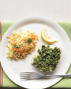 Pistachio-Crusted Cod | 23 Delicious Fish Recipes For Busy Weeknights
