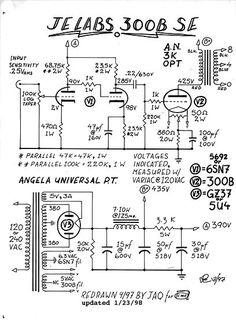 6SL7 driver / Push-Pull (PP) 6V6 / 6V6GT Tube Amplifier