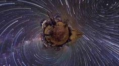 Planetary Panoramas - 360 Degree Night-Sky Time-Lapse by Vincent Brady, ...